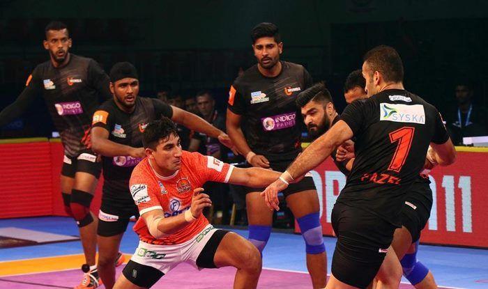 Pro Kabaddi League 2018: Nitin Tomar Shines as Puneri Paltan Hold U Mumba to 32-32 Draw