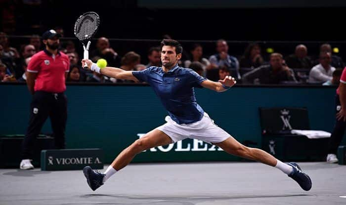 Novak Djokovic Beats Joao Sousa in Straight Sets at Paris Masters; Roger Federer to Face Milos Raonic in Second Round