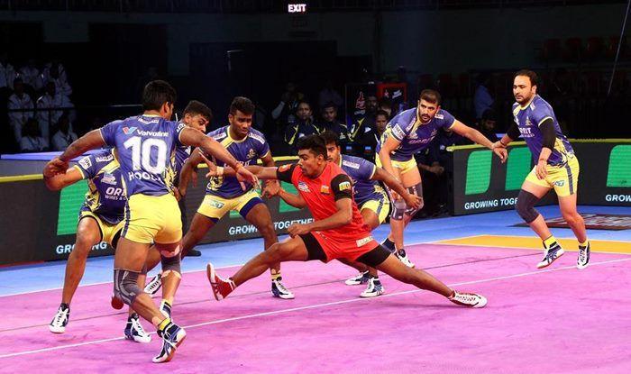Pro Kabaddi League 2018: Pawan Sehrawat Shines as Bengaluru Bulls Beat Tamil Thalaivas in Lopsided Contest