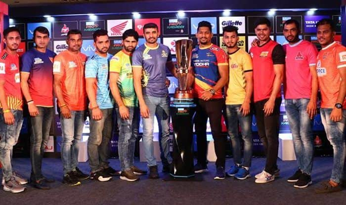 Pro Kabaddi League 2018: Preview, Complete PKL Schedule, Teams, Full Squads, Timings in IST - All You Need to Know About PKL 2018