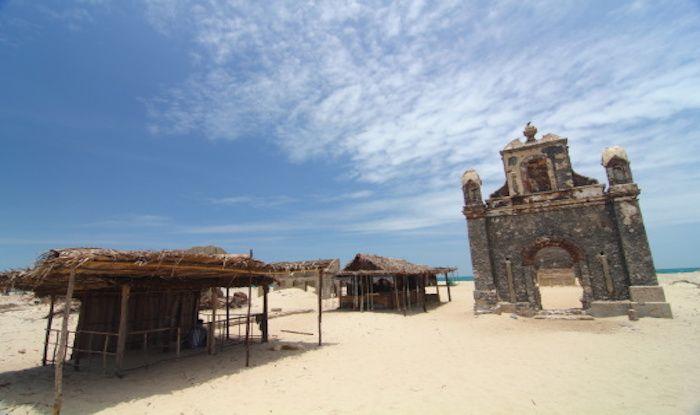 Remains of church, Dhanushkodi