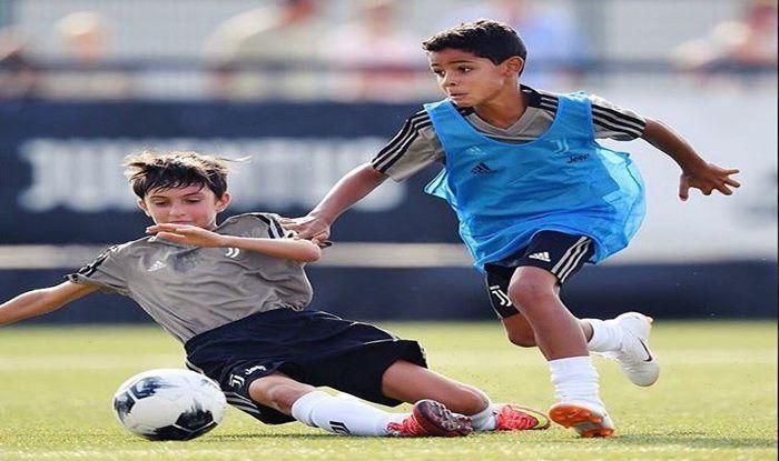 Cristiano Ronaldo's Son, Cristiano Ronaldo Junior Scores Sensational Brace for Juventus Youth Team--WATCH