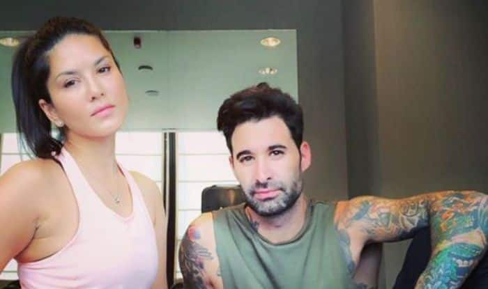 Sunny Leone Looks Hot AF as She Strikes a Pose With Husband Daniel Weber Just After Workout Session – See Picture