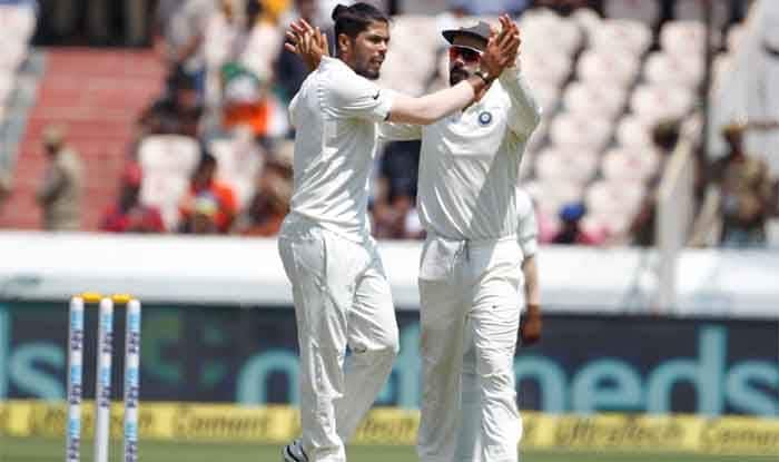 India vs West Indies 2018, 2nd Test: SG Ball Difficult to Get Lower Order, Says India Pacer Umesh Yadav