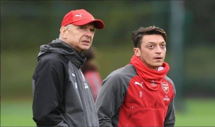 Wenger And Ozil_Picture Credits-Twitter