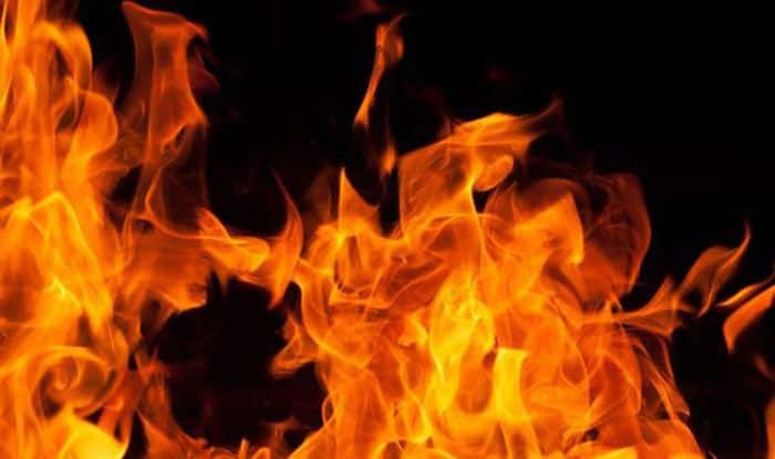 Mumbai: Four Injured in Fire Accident in  Ambernath's Chemical Factory, Train Services Nearby Halted