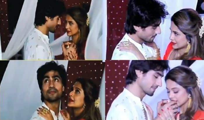 Bepannaah Actors Jennifer Winget–Harshad Chopda Show Steamy Romance on Chaand Chupa Badal Main For Karwa Chauth Episode, Watch