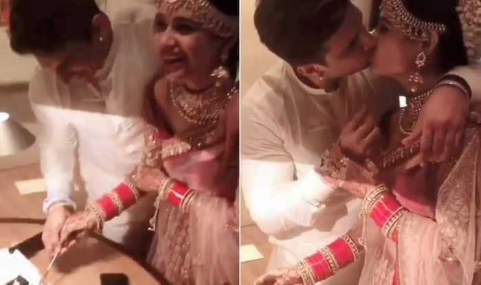 Yuvika Chaudhary – Prince Narula Share Their First Romantic Kiss After Wedding Proving That One Can Find True Love on Bigg Boss as Well, Watch
