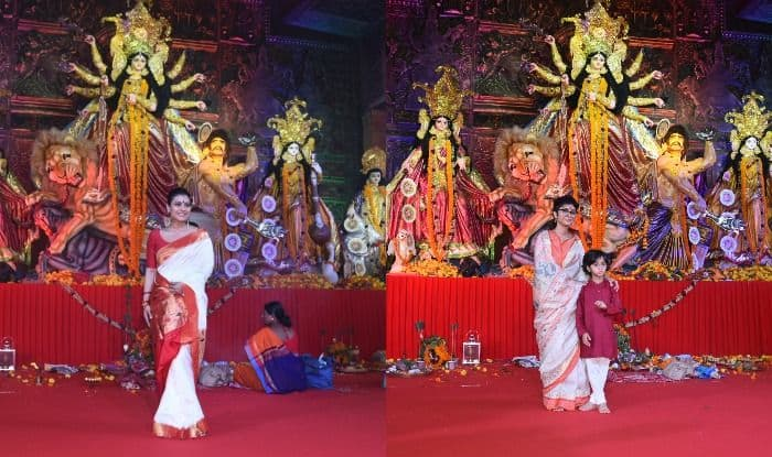 Kajol, Jaya Bachchan And Kiran Rao Take Ethnic Elegance a Notch Higher as They Step Out For Durga Puja