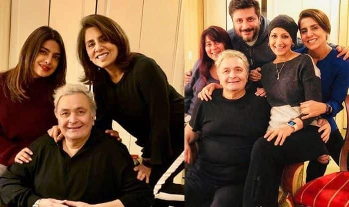 Rishi Kapoor – Neetu Kapoor Beam With Happiness as They Spend Wonderful Time With Priyanka Chopra And Sonali Bendre, See Pics