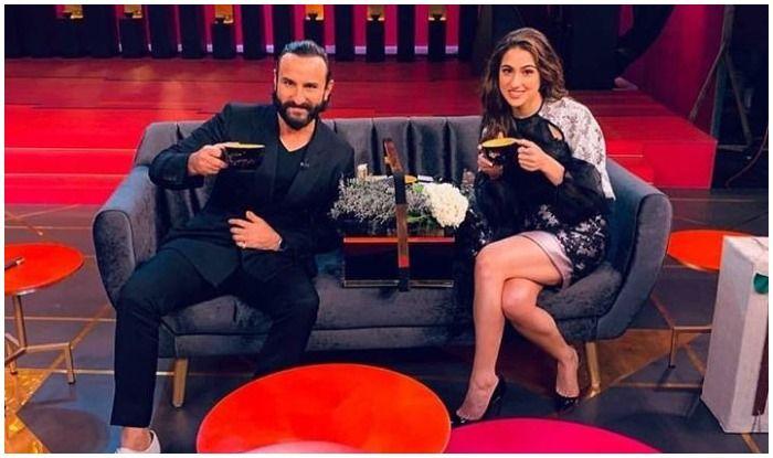 Koffee With Karan 6: Saif Ali Khan And Daughter Sara Ali Khan to Make Their Appearance on The Show as Karan's First Guests