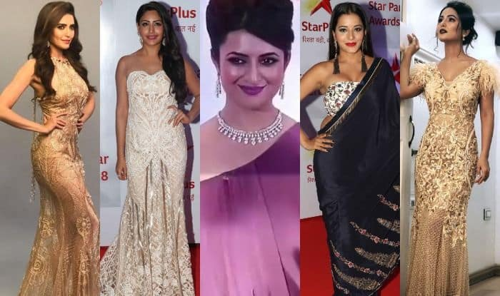 Star Parivaar Awards 2018 Red Carpet Pics: Hina Khan, Surbhi Chandna, Divyanka Tripathi, Karishma Tanna, Monalisa Dress to Kill, See Pics