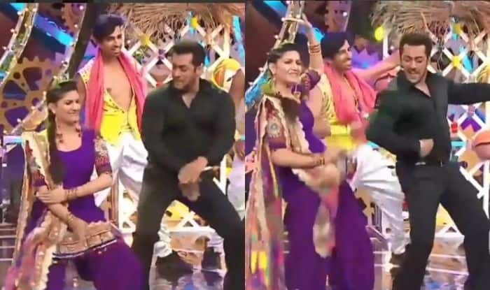Haryanvi Bombshell And Chori 96 Fame Sapna Choudhary's Hot Thumkas With Salman Khan in This Throwback Bigg Boss Video Are Unmissable, Check