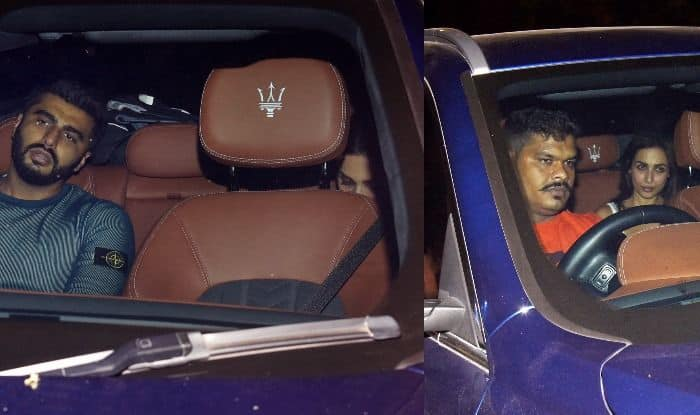 Arjun Kapoor And Rumoured Girlfriend Malaika Arora Turn up For Sandeep Khosla's House Party in The Same Car; See Pics