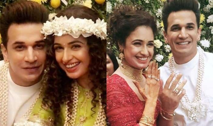 Prince Narula And Yuvika Chaudhary's Mehendi And Engagement Ceremony Pictures Will Leave You in 'Aww' – See Pics