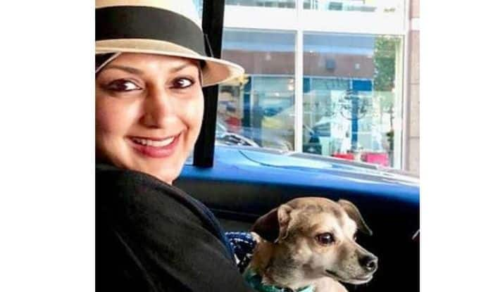 Sonali Bendre Holding on to Priyanka Chopra's Pet Dog in The US is The Cutest Thing You Will See on The Internet Today; See Pic