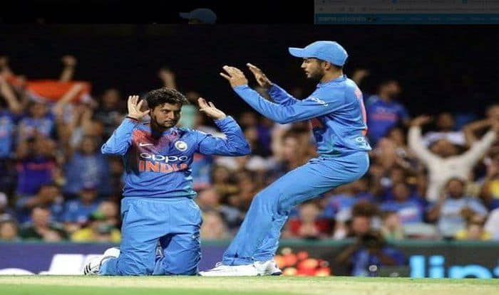 India vs Australia: Kuldeep Yadav Pips Ajantha Mendis to Create a World Record in 15 T20Is Despite Visitors' Defeat in 1st T20I