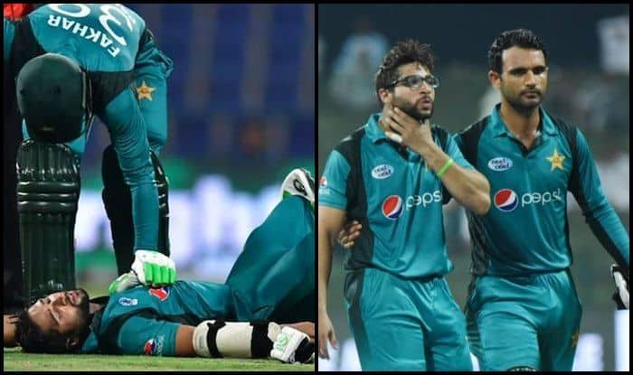 Pakistan vs New Zealand 2nd ODI: Injury Scare as Imam ul Haq Gets Hit on The Grille of His Helmet by a Ferocious Bouncer From Lockie Ferguson — WATCH