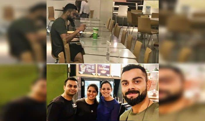 India vs Australia 1st T20I: Virat Kohli Obliges Fans With a Selfie After Breakfast Ahead of Brisbane Tie | PIC
