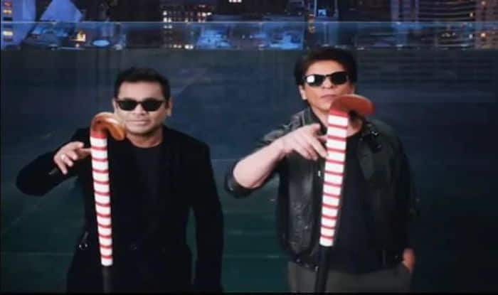 AR Rahman-SRK theme Song Screenshot-Picture credits-Twitter