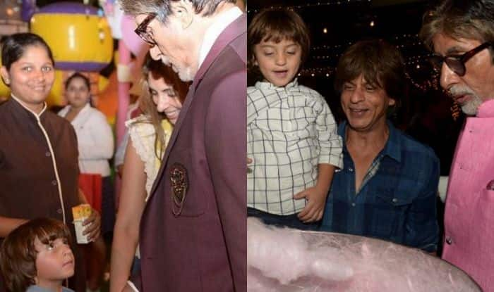 Amitabh Bachchan Says Shah Rukh Khan's Little One AbRam is Convinced He's His Grandfather