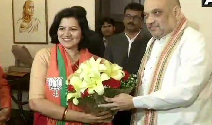 Former IAS Officer Aparajita Sarangi Joins BJP
