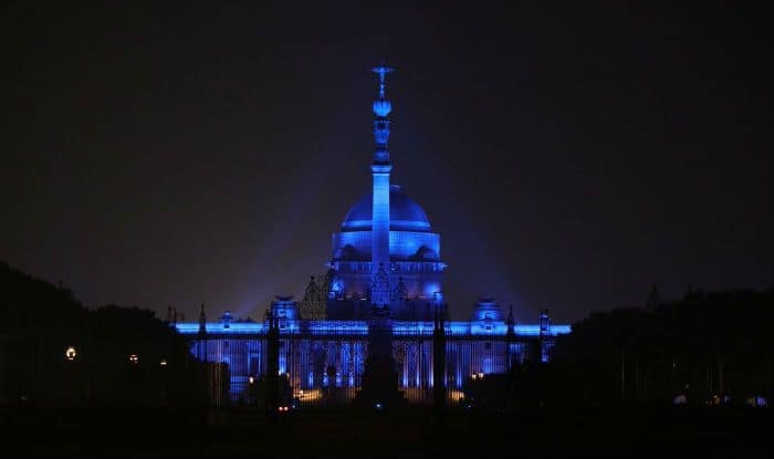Rashtrapati Bhavan Turns Blue on Eve of World Children's Day to Show Solidarity With Child Rights