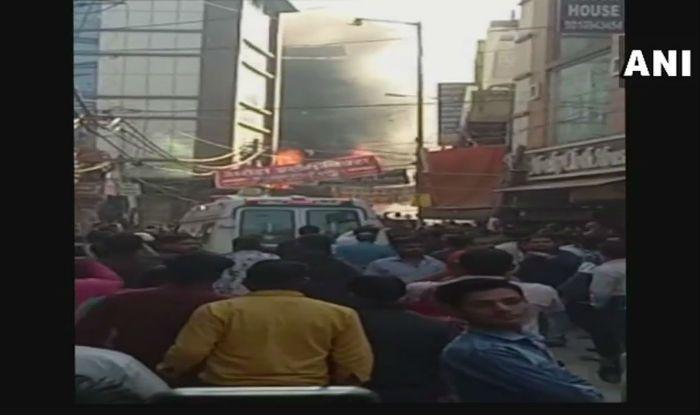 Delhi: Fire Breaks Out at Shop in Bhajanpura Market; Eight Fire Tenders at Spot