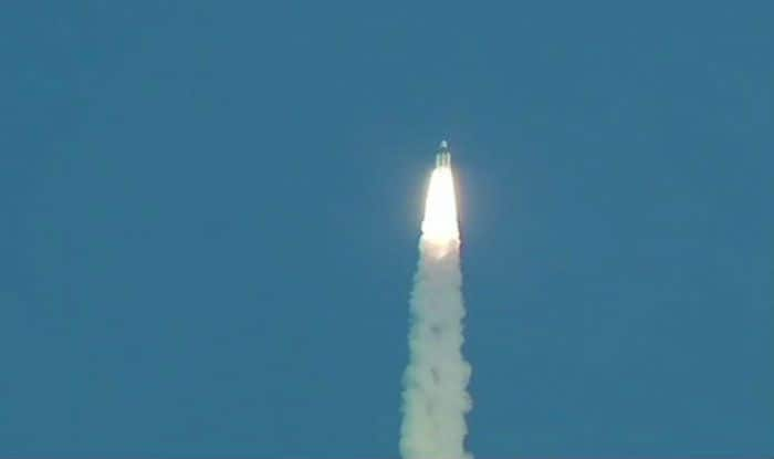 GSLV-MK-III D2 Carrying GSAT-29 Satellite Launched by ISRO From Satish Dhawan Space Centre in Sriharikota