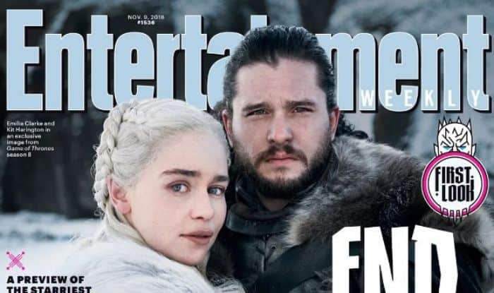 Game Of Thrones Season 8 First Look: Daenerys Targaryen And Jon Snow Feature on Cover of Entertainment Weekly