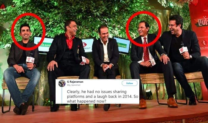 When Gautam Gambhir Shared Stage With Mohammad Azharuddin During an Event, Renowned Journalist Slams India Opener For Double Standards
