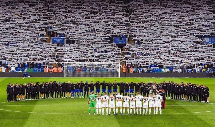 Leicester City Tribute for Vichai_Picture credits-Twitter