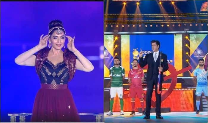 Hockey World Cup Opening Ceremony 2018: Shah Rukh Khan, Madhuri Dixit And AR Rahman Enthrall Crowd as World Cup Kicks-Off in Grand Style in Bhubaneswar