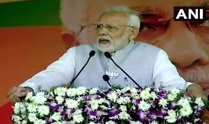 Telangana Assembly Election 2018: K Chandrashekhar Rao is 'Insecure', Walking on Congress Path, Says PM Narendra Modi in Nizamabad