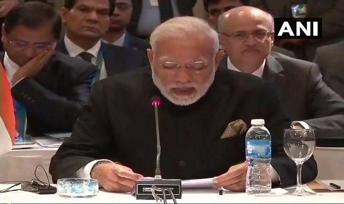 PM Modi at BRICS Informal Meeting