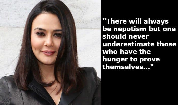 Preity Zinta Talks About Nepotism in Bollywood, Calls it an Age-Old Thing That Will Never go Away