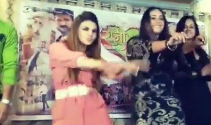 Bhojpuri Sizzler Rani Chatterjee And Drama Queen Rakhi Sawant Flaunt