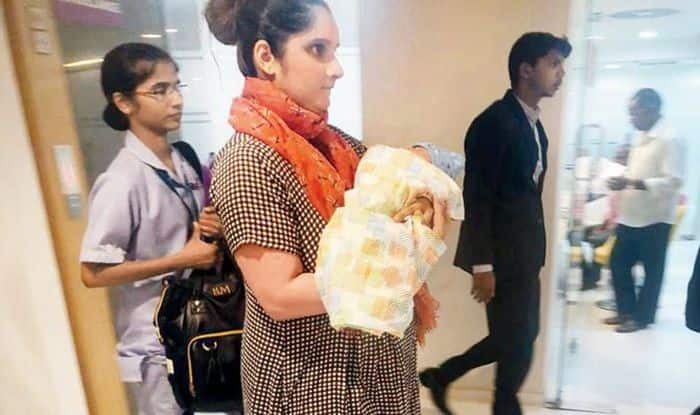 Sania Mirza Leaves Hospital With Newly-Born Son Izhaan Mirza
