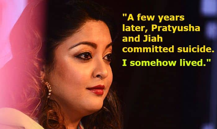 Tanushree Dutta-Nana Patekar Sexual Harassment Case Update: Actress' Latest Statement Has Names of Pratyusha Banerjee And Jiah Khan to Explain How She Fought Hard