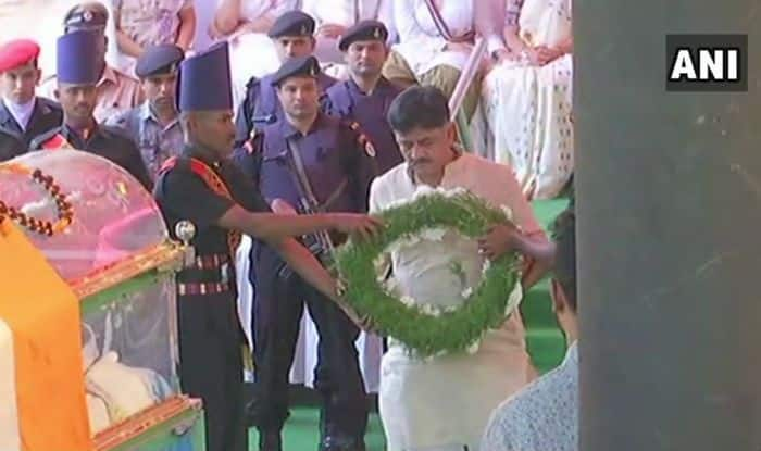 Parliamentary Affairs Minister Ananth Kumar Cremated With Full State Honours, Several Leaders Pay Homage