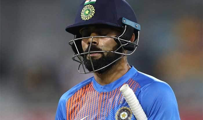 Virat Kohli, India vs New Zealand World Cup Warm-up, ICC Cricket World Cup Warm-up, India vs New Zealand, Colin de Grandhomme, World Cup 2019, de Grandhomme bowled Kohli, Virat Kohli World Cup 2019