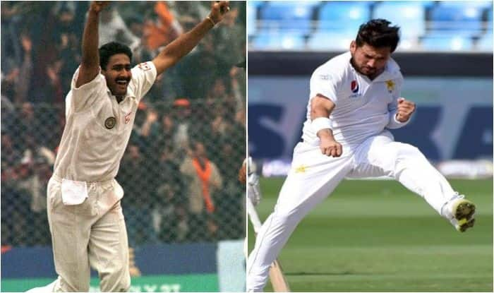 Pakistan vs New Zealand 2nd Test Dubai: Yasir Shah Equals Anil Kumble's Record, Becomes First-Ever Pakistan Bowler to Pick 10 Wickets in a Day's Play
