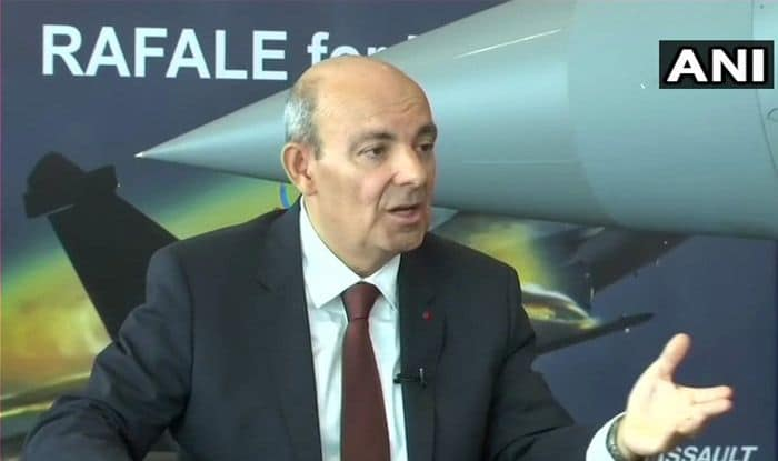 'I Don't Lie, Chose Ambani by Ourselves': Dassault CEO Rubbishes Rahul Gandhi's Charge on Rafale Deal