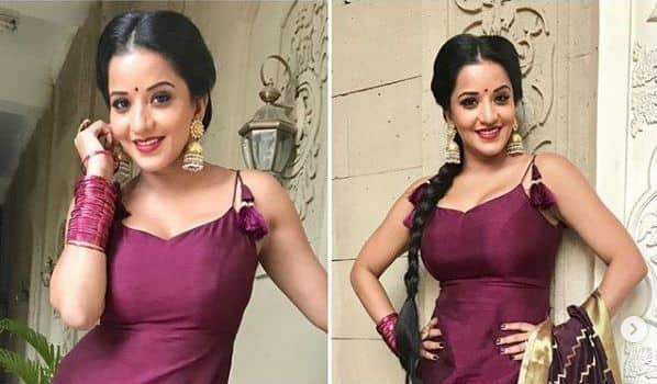 Bhojpuri Hot Bomb And Nazar Fame Monalisa Looks Hot And Sexy in Pink Suit, See Pics
