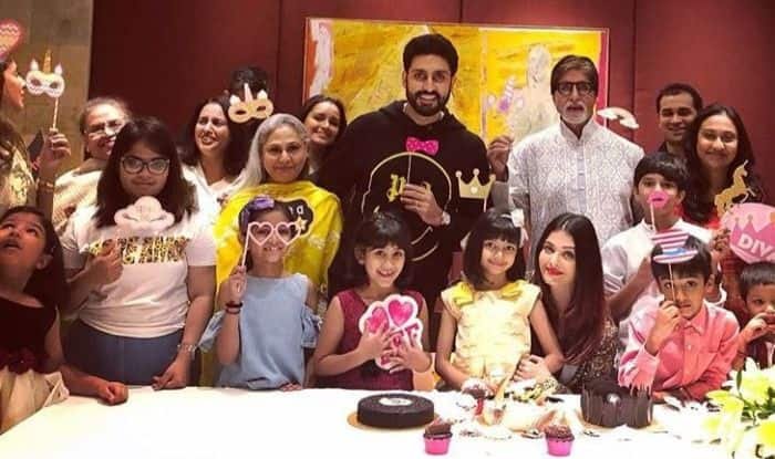 Abhishek Bachchan, Amitabh Bachchan And Aishwarya Rai Bachchan Celebrate Their 'Darling Angel' Aaradhya Bachchan's 7th Birthday; See Pictures