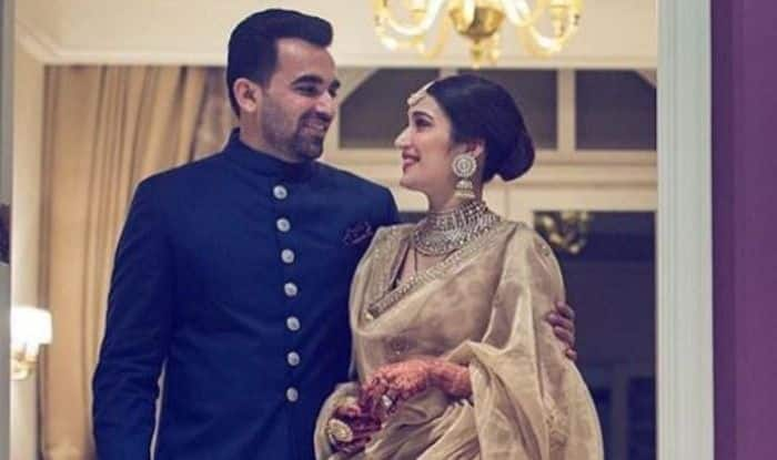 Sagarika Ghatge And Zaheer Khan Share Adorable Picture From  Wedding Reception; Wish Each Other on 1st Wedding Anniversary