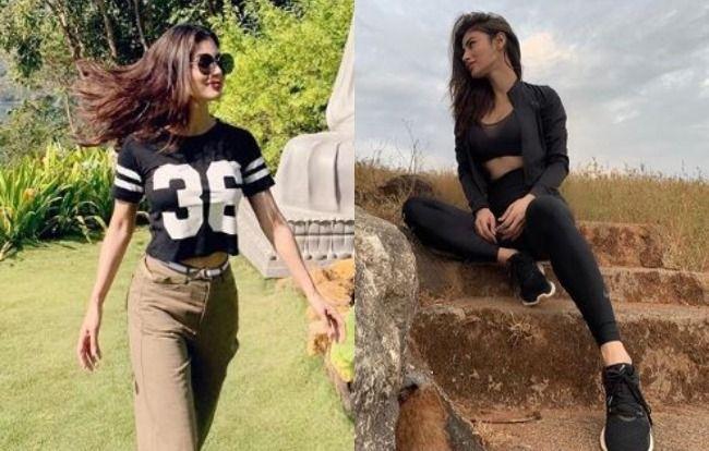Naagin Actress Mouni Roy Strikes a Sexy Pose as She Enjoys Some Downtime, See Pics