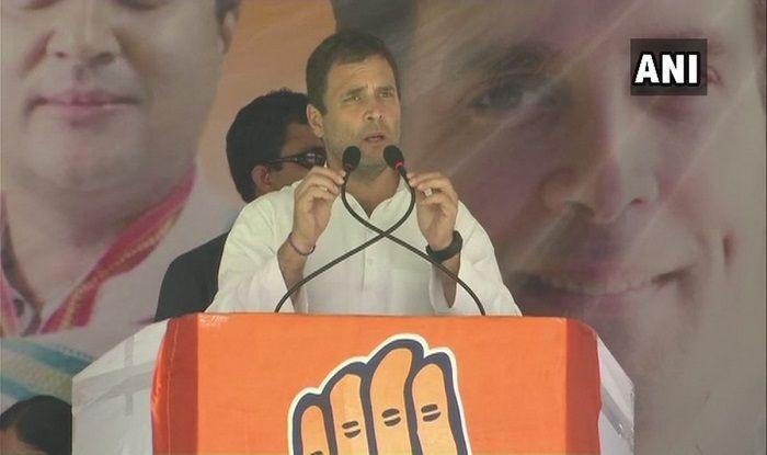 Madhya Pradesh Assembly Election 2018: Congress President Rahul Gandhi Targets PM Modi, CM Shivraj Singh Chouhan