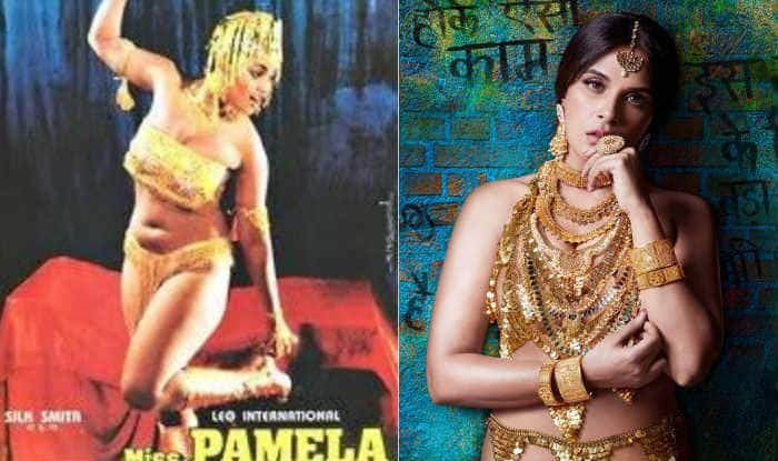 Richa Chadha's Gold Look From Shakeela Biopic Inspired From Hot South Actress Silk Smitha