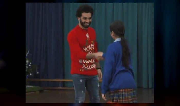 Mo Salah's Christmas surprise for school kids